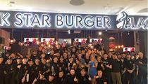 Открытие. Бургерная Black Star Burger