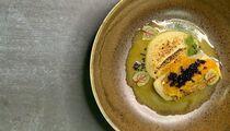 Рецепт палтуса с пюре из пастернака и цитрусовым конфитюром от шеф-повара