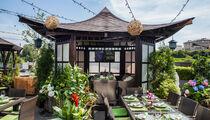 Летняя веранда в ресторане Bamboo.bar