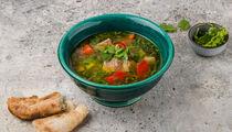 Рецепт наваристой хашламы из баранины от «Мамалыги»