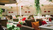 Летняя веранда ресторана White Cafe на Новом Арбате
