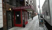 Ресторан «Русский самовар» в Нью-Йорке обанкротился