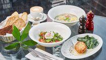 Обеды в ресторане Sixty с видом на Москву всего за 1000 рублей