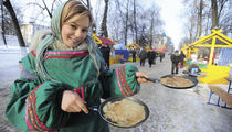 Необычная масленичная неделя в стиле «Блинбекю» на площади Ярославля