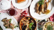 Летнее меню в советских кафе «Квартирка» и «Дачники»
