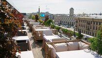 Открытие летней террасы ресторана «Москва»