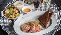 Петербургский сет закусок и настоек от бара «Печоринъ»