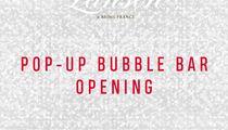 На Усачевском рынке открывается Pop-up Bubble Bar by Lanson