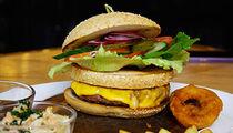 Бургер-меню в ресторане «Барбазан»