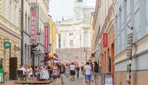 Событие «MTV PUSH Helsinki» - это городской праздник в Торговых кварталах Хельсинки (Torikorttelit)
