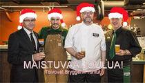 Рождественские и новогодние ланчи и новые сорта пива в ресторане-пивоварне «Bryggeri Helsinki»