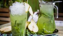 Освежающие напитки в ресторане «Christian»