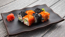 Sushi menu в «Лимончино»