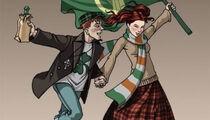 День Святого Патрика в ирландских пабах «O'Hooligans»
