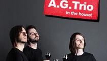 Группа A.G. Trio на сцене ресторана Tommy D
