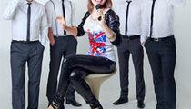 Лена Маркова и группа «Кавер-FM» в клубе «Марсель»