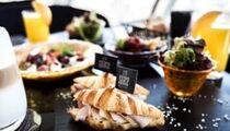 Меню завтраков и ланчей в панорамном ресторане «Сити Спейс»