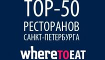 ТОП-50 Where to eat 2014