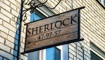 Sherlock lounge bar