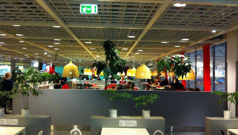 ресторан Ikea икеа по адресу мурманское шоссе 12 й км строение 1