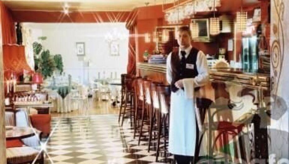 кафе где гостей развлекают конферансом 6 букв
