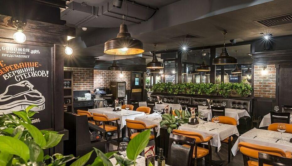 Салат Цезарь в ресторанах Москвы. Starlite Diner на Маяковке, Sky Lounge, Манеръ, Menza, стейк-хаус Goodman