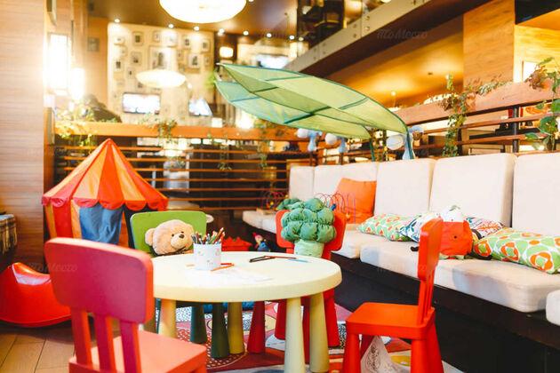Рестораны с детской комнатой