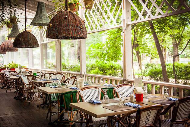 Рестораны у парков