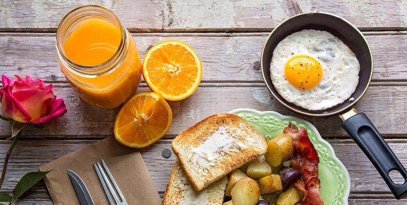 Завтраки в ресторанах