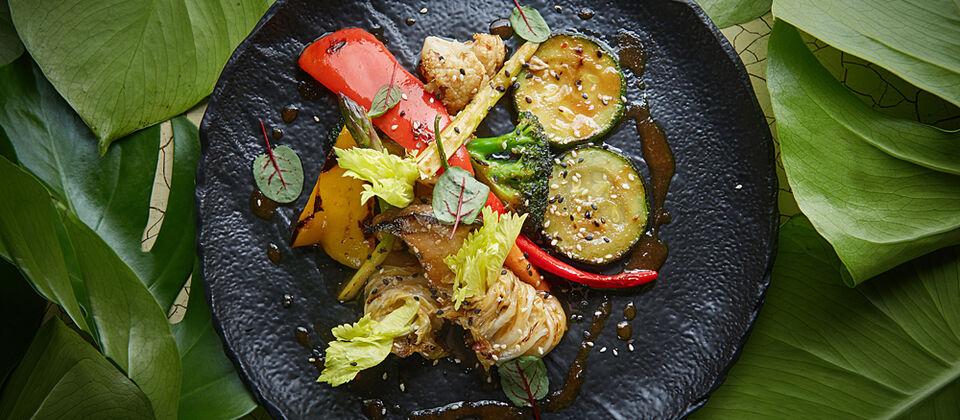 Вегетарианские рестораны в Москве