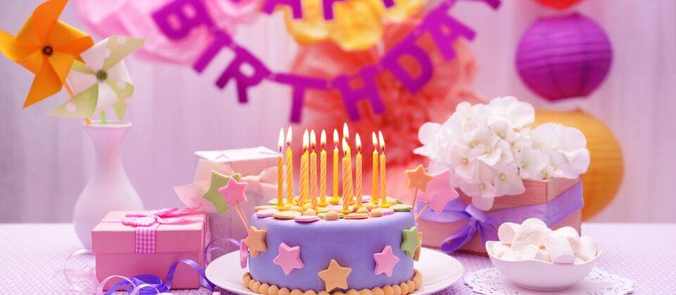 Детский день рождения в Томске