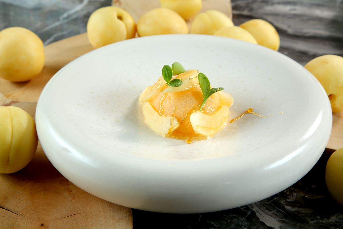 Сорбет Белый абрикос