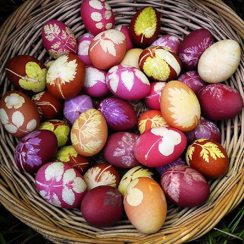 Творческий подход к украшению яиц