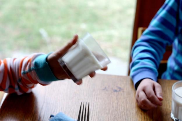 Розыгрыш «Застывшее молоко»