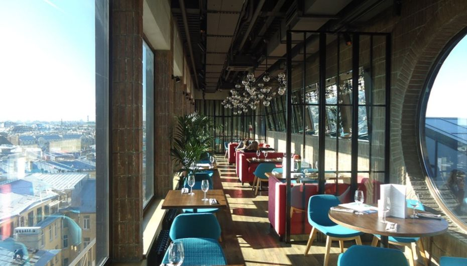 Ресторан Паруса на крыше