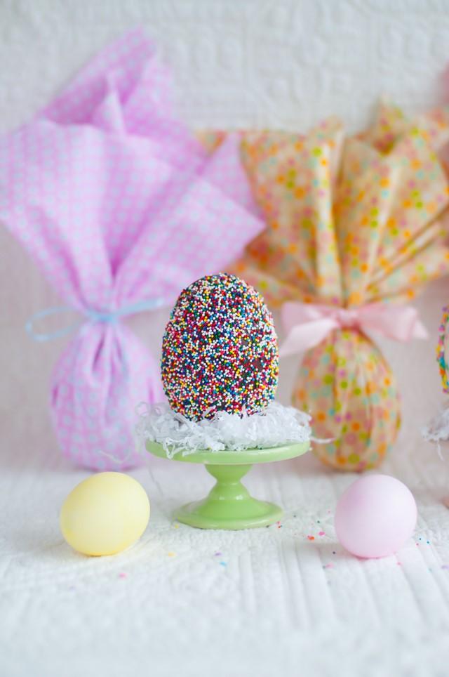 Идея украшения яиц