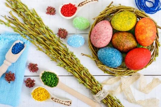 Как выглядит окрашивание цветным рисом