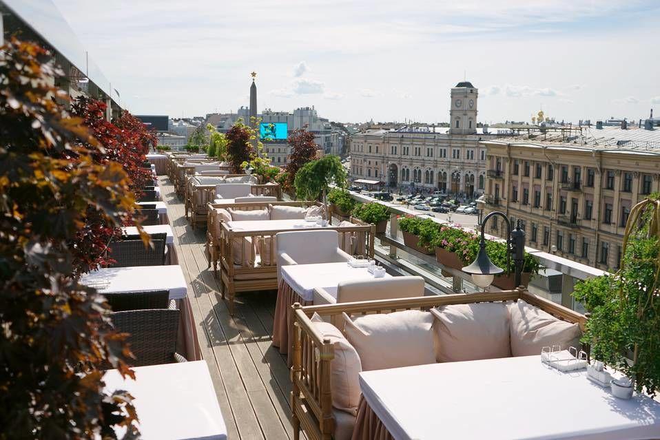 Летняя терраса ресторана «Москва»