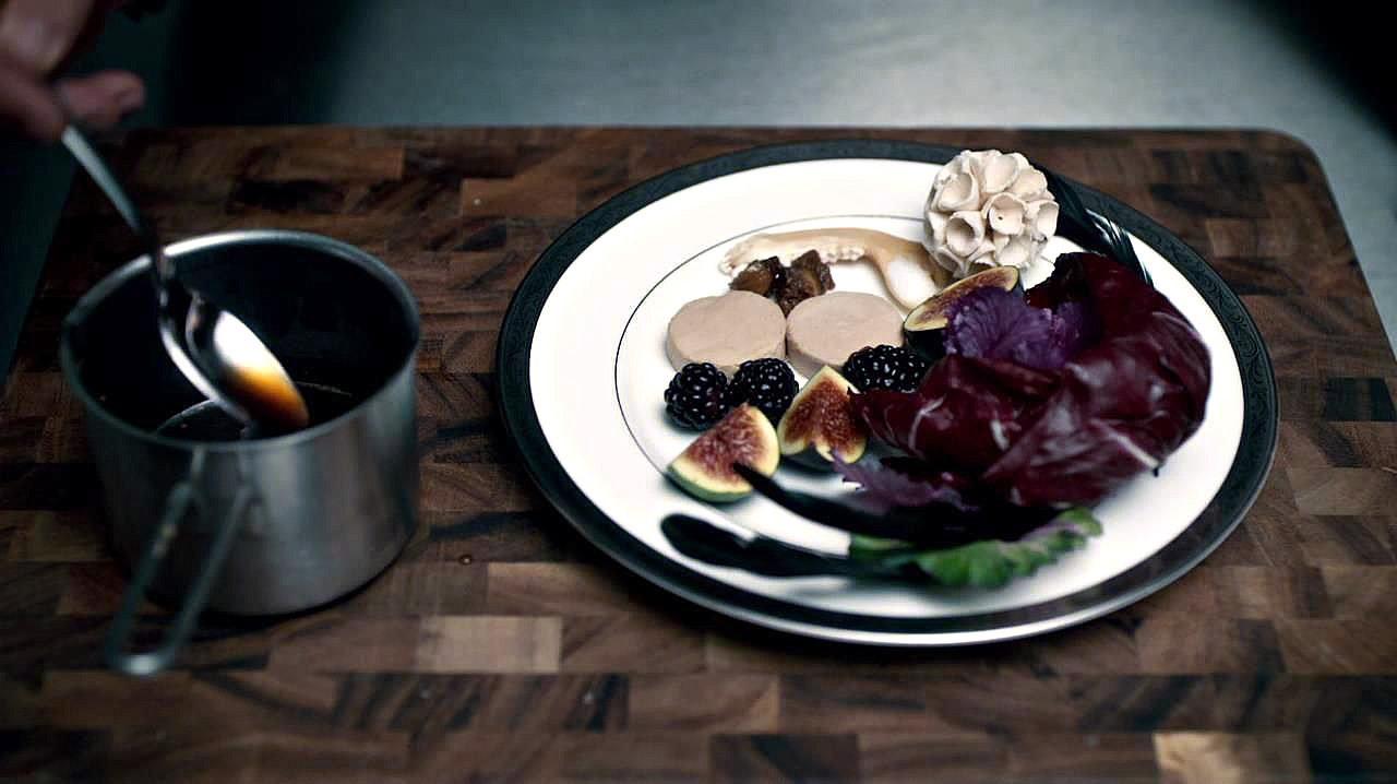 Блюдо Foie Grasau Torchon
