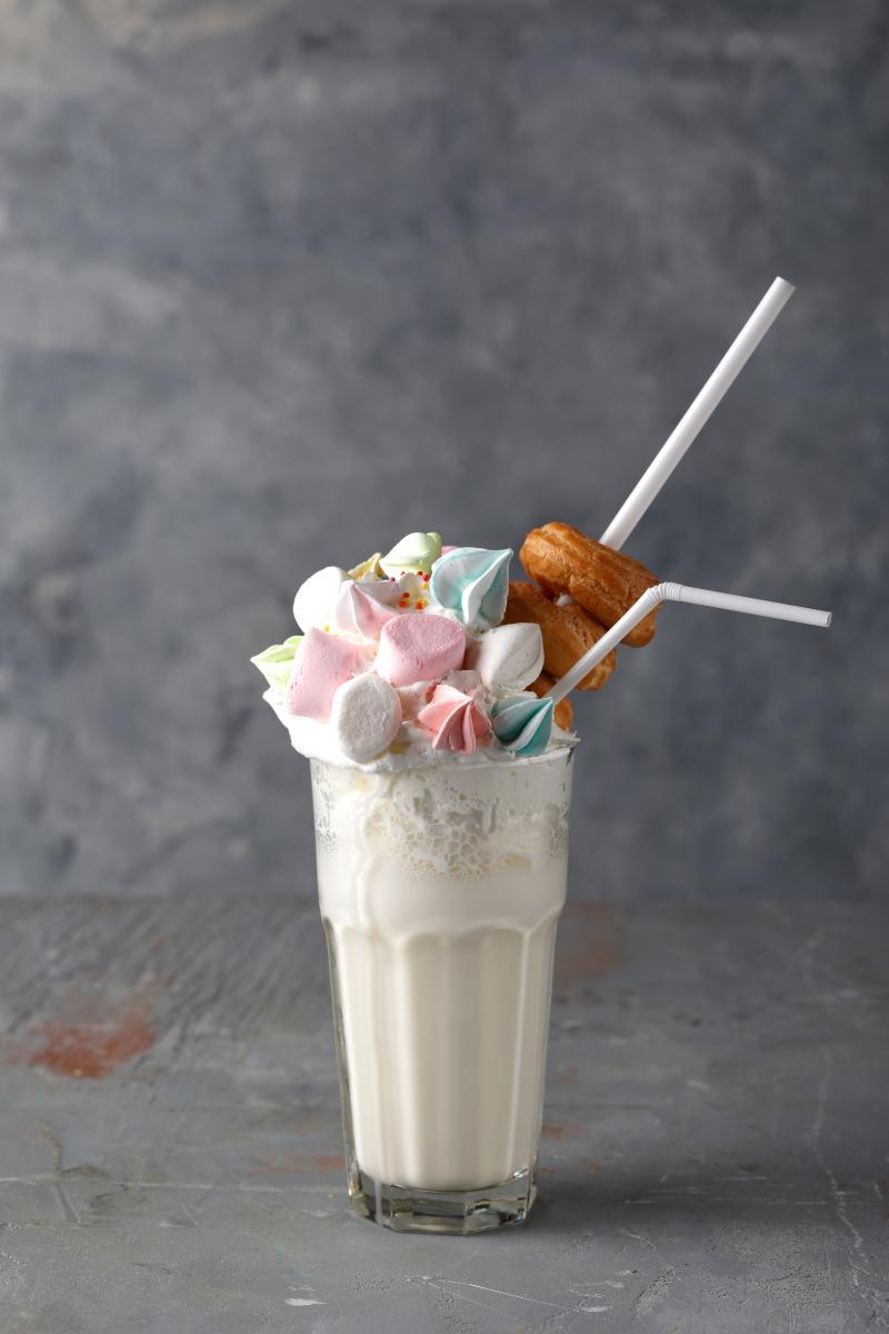 Фирменный карамельно-зефирковый коктейль от сети семейных кафе-кондитерских «АндерСон»