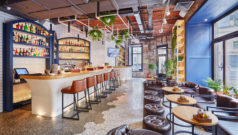 Ресторан-сад Little Garden Kitchen & Bar