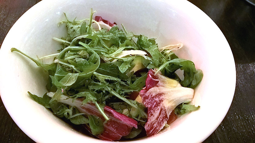 Салат с уткой конфи