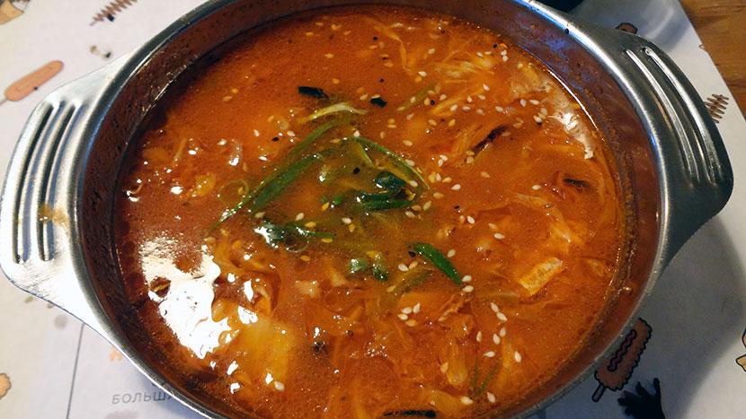 Суп Кимчи чиге