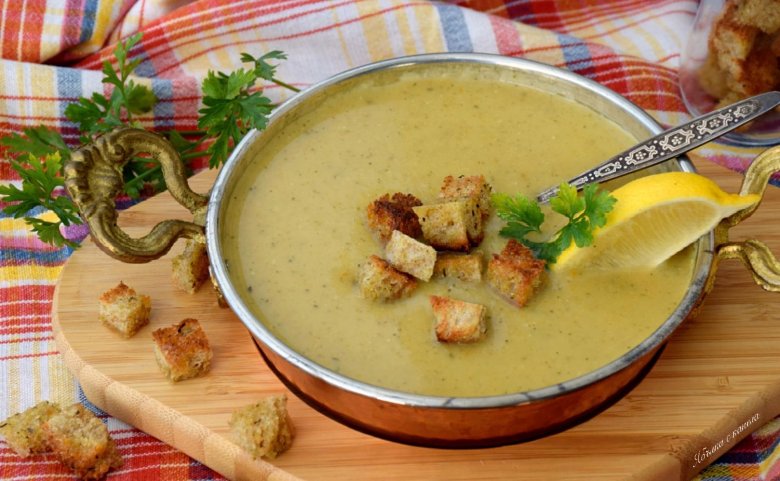 Крем-суп из леща