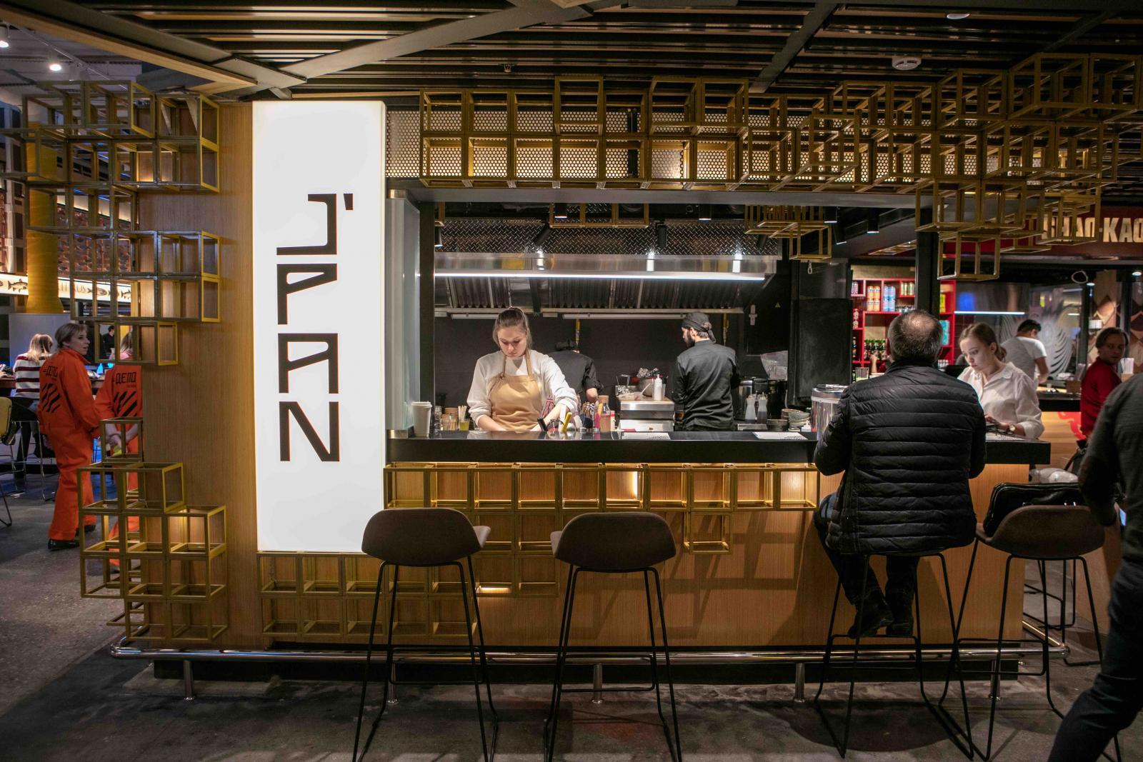 Японский ресторан в «Депо» - J'PAN