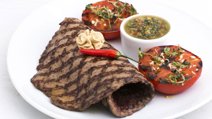 Стейк «Мексиканский» в ресторане «Casa del Мясо»
