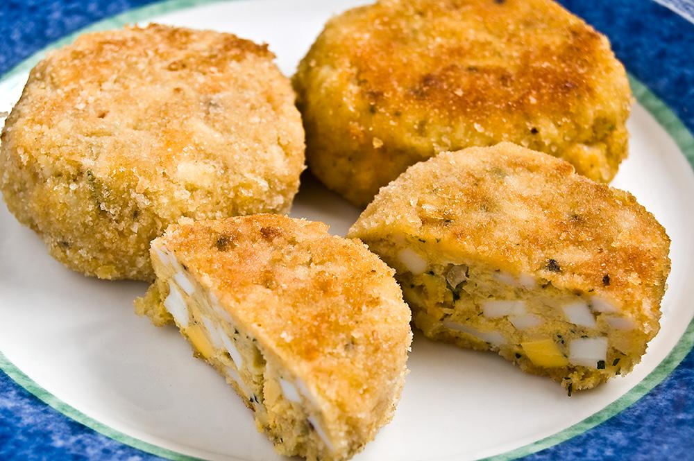 Вкусное блюдо из яиц - яичные котлеты по-карельски