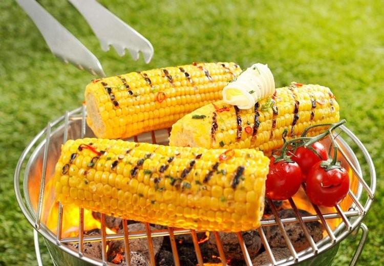Кукуруза с острым соусом
