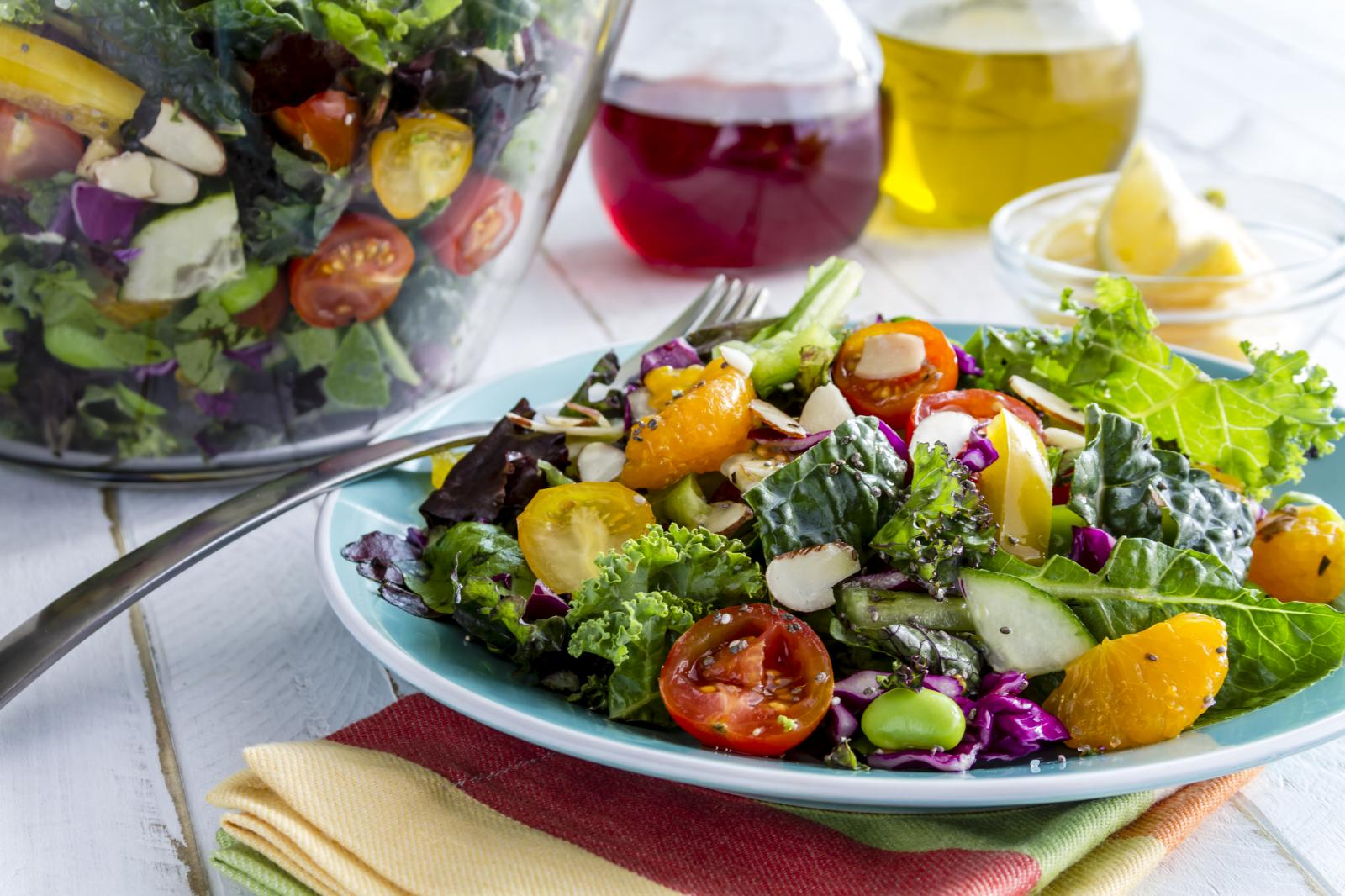 Летний салат: 8 лучших рецептов