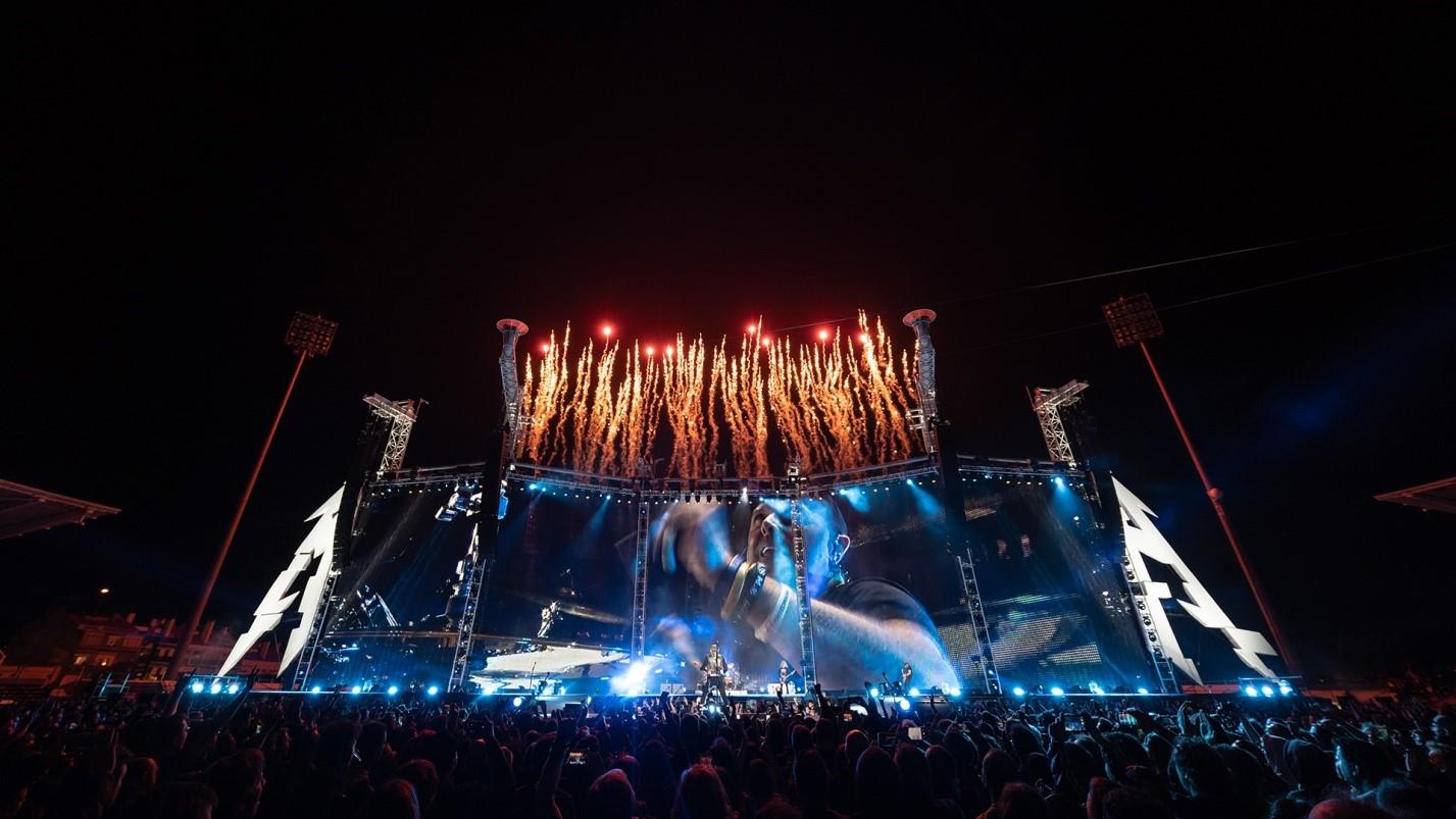 Metallica в Лиссабоне 1 мая 2019 года